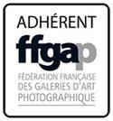 Adhérent à la fédération française des galeries d'art photographique