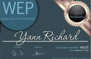 Yann Richard est membre de World Elite  Photographers