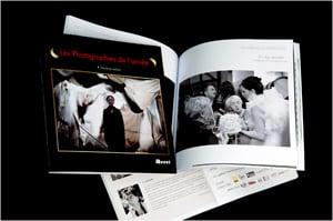 Albums avec photos de mariage