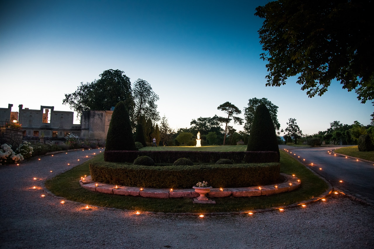 Le maginifque jardin du château de Fère