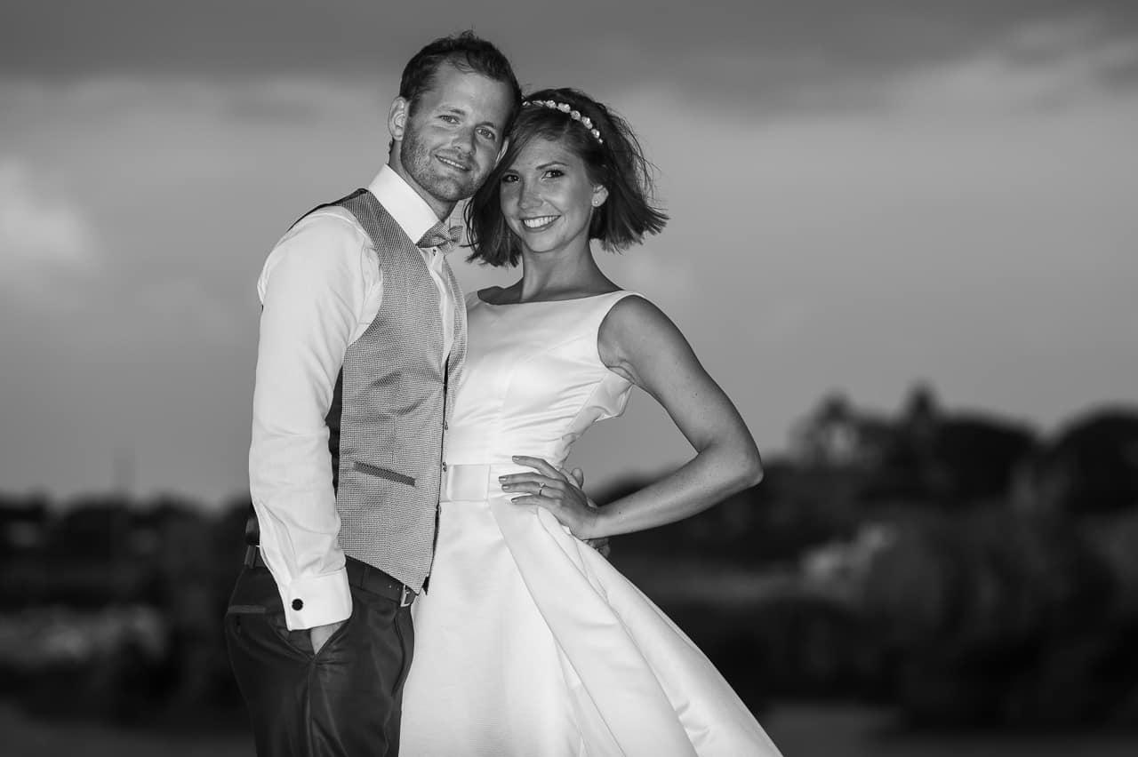 Magnifique portrait de mariés