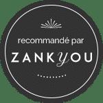 Distinction et prestataire sur Zankyou