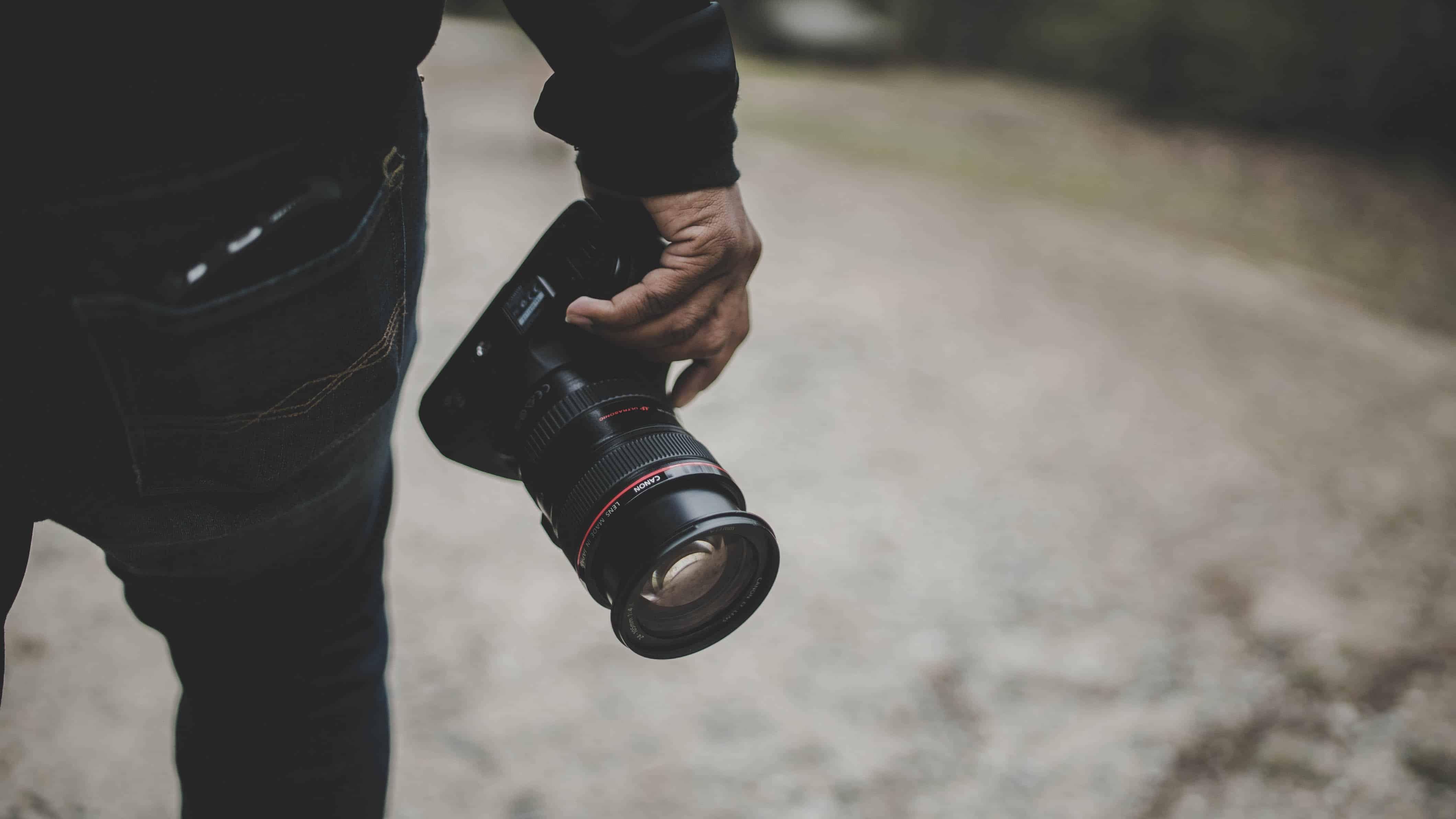 mentions légales appareil photo pour photographe